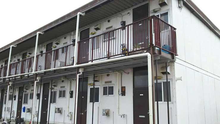 名張市 アパート塗装工事