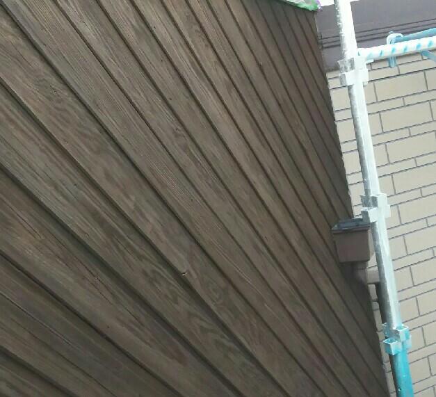 木部外壁塗装 施工後