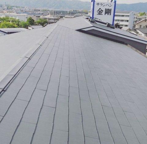 伊賀市マンション屋根塗装工事