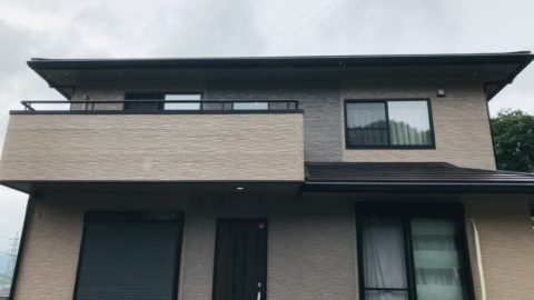 伊賀市I様邸屋根改修・外壁塗装工事